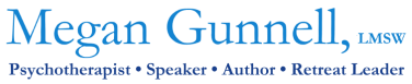 Megan Gunnell, LMSW, MT-BC – Psychotherapist Logo